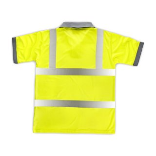 High Visibility Polo Shirt gelb