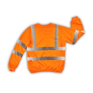 High Visibility Sweatshirt / Pullover orange