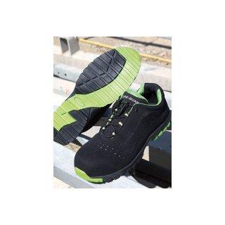 quality design 1ffb0 3008c Result Arbeitsschuhe Sicherheitsschuhe Shield Lightweight Safety Trainer  schwarz/grün SB-P