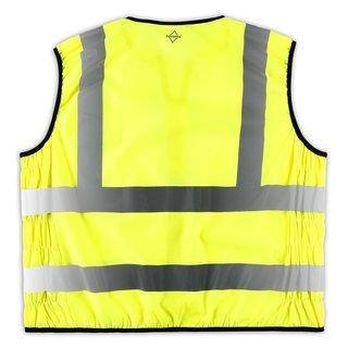 Safety Vest EN ISO 20471 Warnweste Größe XXL Gelb