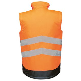 Regatta Bodywarmer Warnweste wasserdicht und atmungsaktive orange